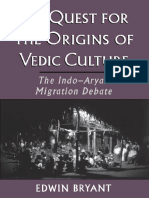 The Quest for the Origins of Vedic Culture - Edwin Bryant