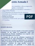 Columnas CA Flexión Biaxial