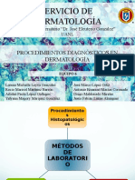 Procedimientos Diagnosticos en Dermatologia