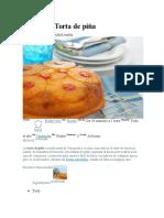 Receta de Torta de Piña