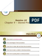 16 - Chapter 9 - Stored Procedures