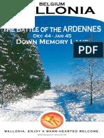 Ardennes Tourism Board Bulge Battlefields