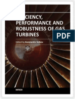 Efficiency, Performance and Robustness of Gas Turbines (InTech, 2012)