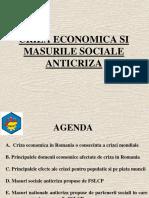 Criza Economica in Romania