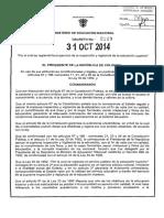 Decreto 2219 Del 31 de Octubre de 2014 (1)