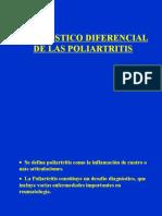 Diag. Dif. de Las Poliartritis