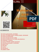 CATALOGO Mamparas Sanitarias Kiliwa