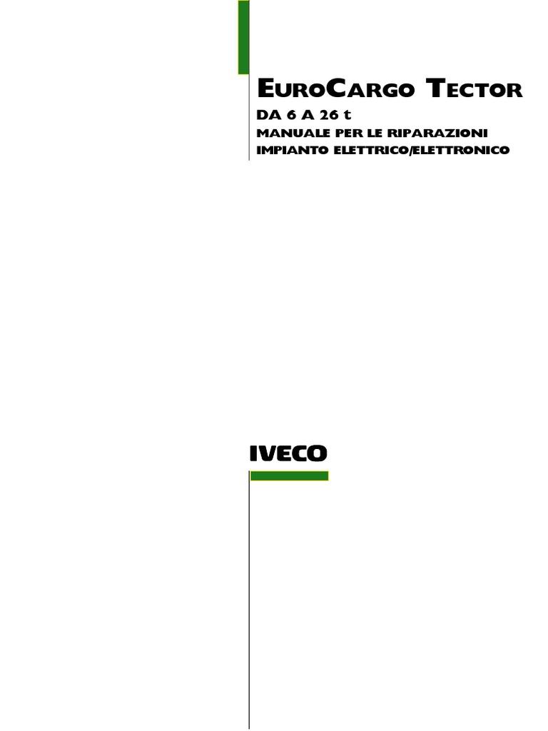 Schema Elettrico Relè Interruttore : Iveco eurocargo electrical service manual 2003