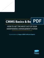 CMMS Basics and Beyond