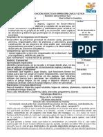 Narración y Analisis 5 Planeación Formación Cívica y Ética