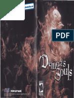 Demons Souls - Manual - PS3