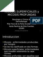 Micosis superficiales y micosis profundas