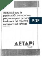 Propuesta Para Planificación de Servicios