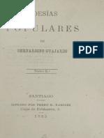 Poesías populares de Bernardino Guajardo