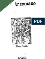 Bendala Manuel - El Arte Romano