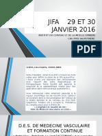 Jifa 29 Et 30 Janvier 2016