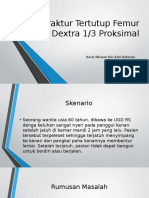 Fraktur Tertutup Femur Dextra 1