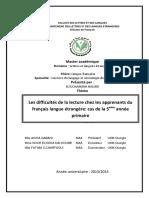 enseignement frainçais en algerie
