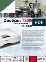 Duoscan t2000xl Brochure En