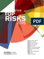 Top Risks 2016