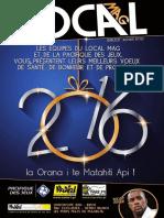 LOCAL MAG N°43 – JANVIER 2016