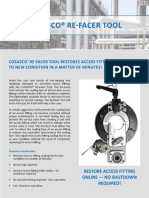 Cosasco Access Fitting Refacer Tool