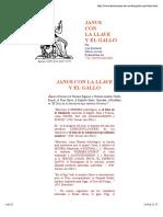 JANUS CON LA LLAVE Y EL GALLO