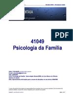 41049 - Psicologia Da Família