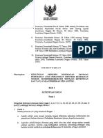 Kmk 1332 Thn 2002 Perubahan Atas Peraturan Menteri Kesehatan Ri No 922 Thn 1993