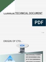Common Technical Document