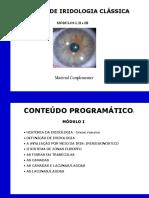 Iridologia Material Complementar 1