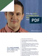 McKinsey Postgrad Careers Brochure