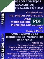 Consejo local de planificacion publica instalado en Guaicapuro