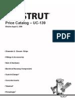 UC139 Pricelist