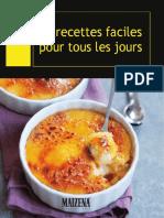 Brochure Recettes