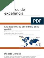 3. Modelos de Excelencia