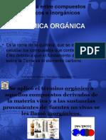 Diferecias Compuestos Organicos e Inorganicos (1)