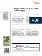 ERP Creating the Business Case
