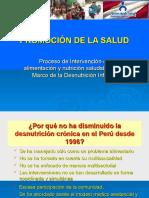 2-6 Oct. Intervención Promocion Alim. y Nutric. Saludable-Ing. Jaime Saldivar