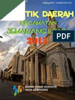 Statistik Daerah Kecamatan Semarang Utara 2015