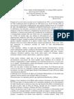 Sobre Proyecto de Ley contra la discriminación - Un enfoque bíblico-pastoral - Union Bautista Region Metropolitana -  2009