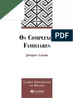 Jaques Lacan Os Complexos Familiares PDF Copia (2)