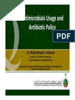 Penggunaan antimikroba