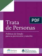 Trata de Personas -Políticas de Estado Para Su Prevención y Sanción