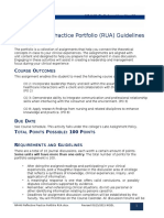 NR446 RUA-Guideines and Rubric-Revised July 14 2015