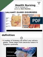 Salivary Gland Disorder