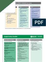 Surgical Safety Checklist