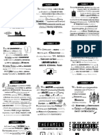 Proclamation Memorization Cards
