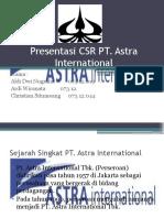 Presentasi PT. Astra International