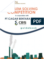 IChEC 2016 Problem Solving Guidebook